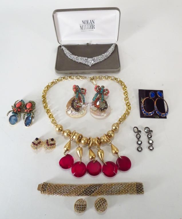 YSL & Nicole Miller Jewelry