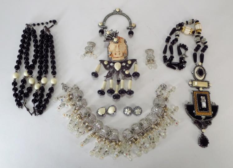 VRBA Rhinestone Embellished Jewelry