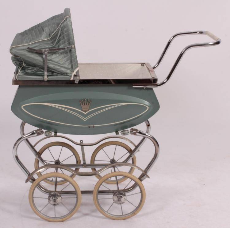 Vintage Crown Baby Doll Carriage, c. 1950's