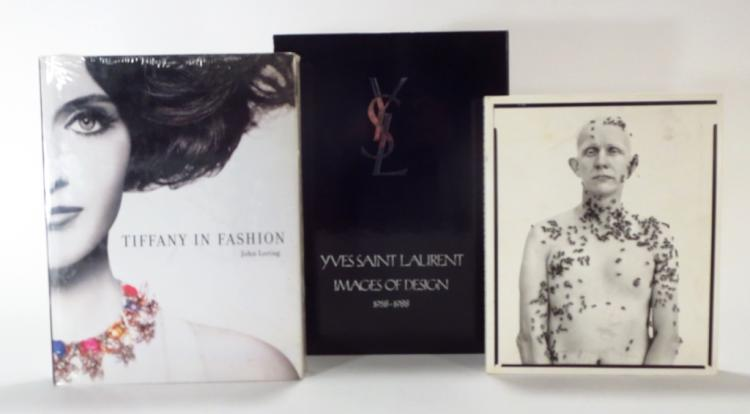 Two Fashion Books & One Portrait Book