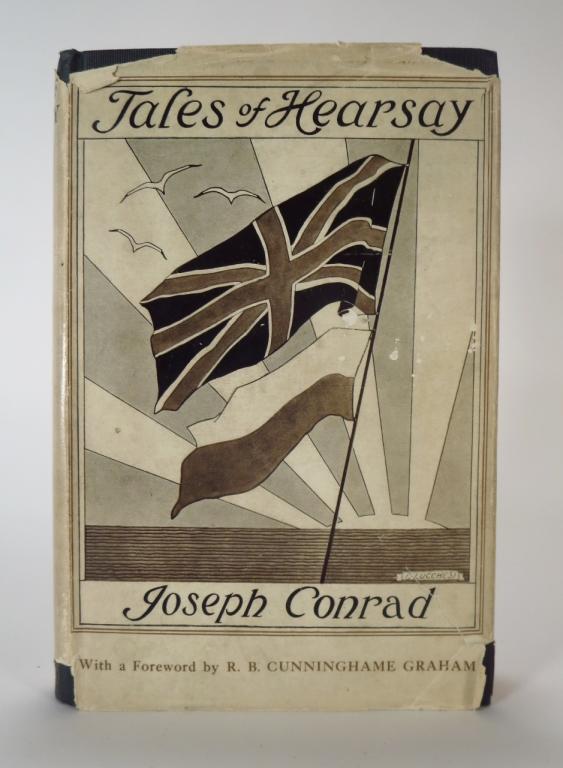 Joseph Conrad First Edition Book Tales of Hearsay
