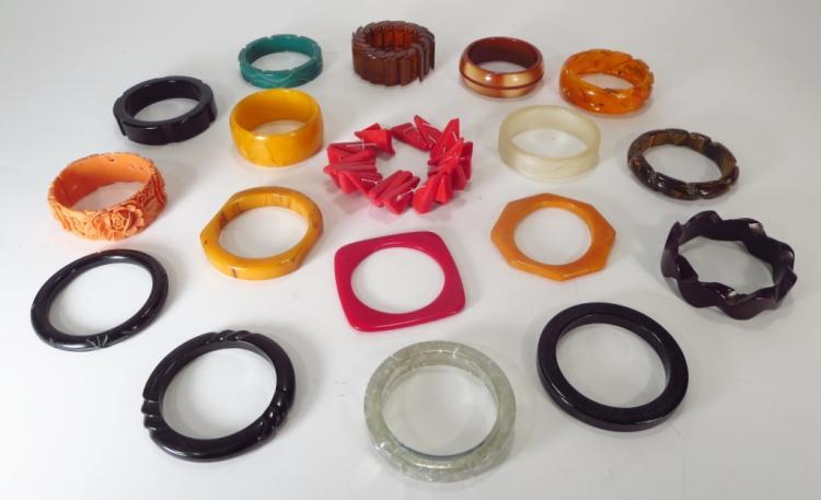 Bakelite & Other Bracelets