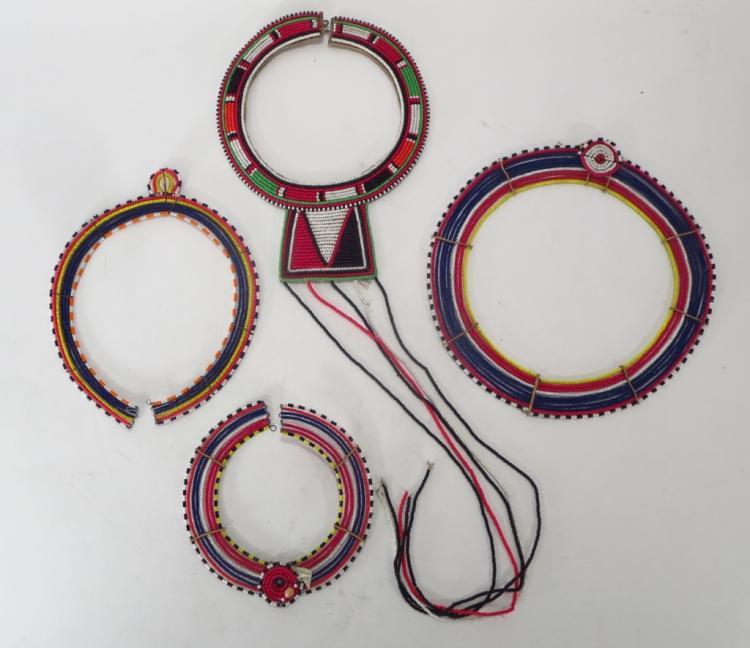 Ethnic Beaded Neckpieces