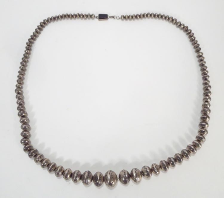 Sterling Silver Necklace, Ted Charveze