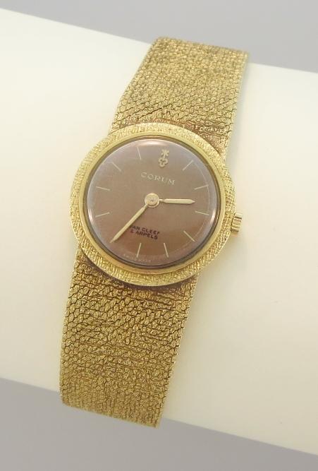 18K Gold Van Cleef & Arpels Wristwatch