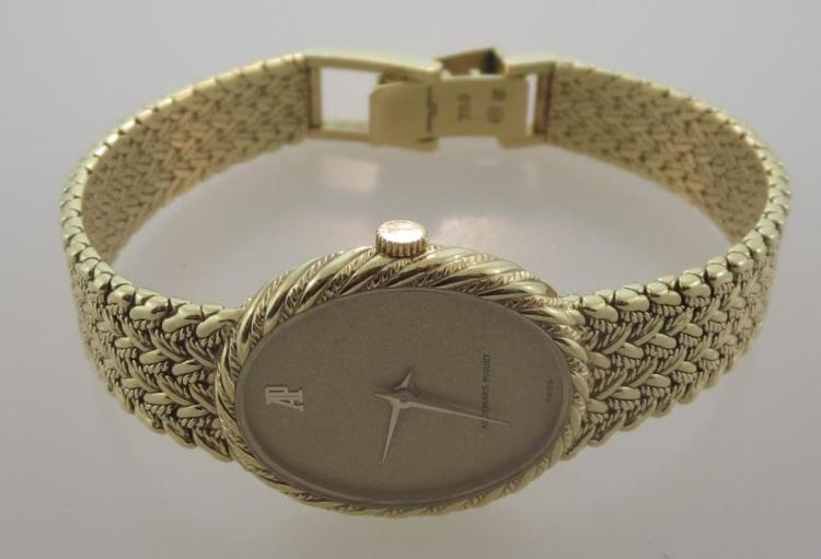 18K Gold Audemars Piguet Wristwatch