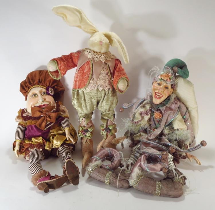 Katherine's Collection, Three Jester Dolls