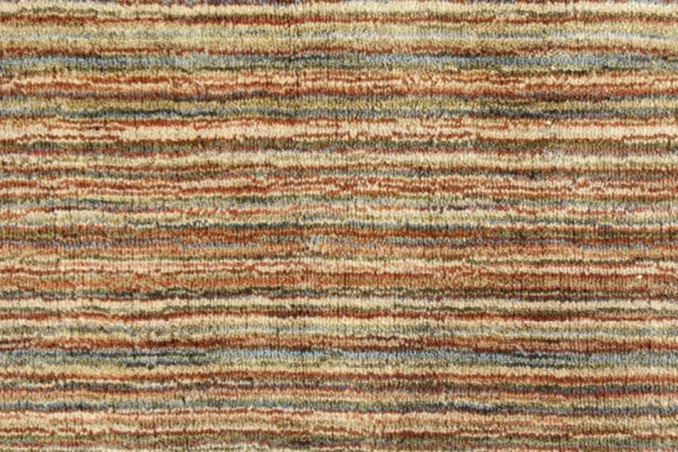 Contemporary Flat Weave Wool Carpet, Earth Toned