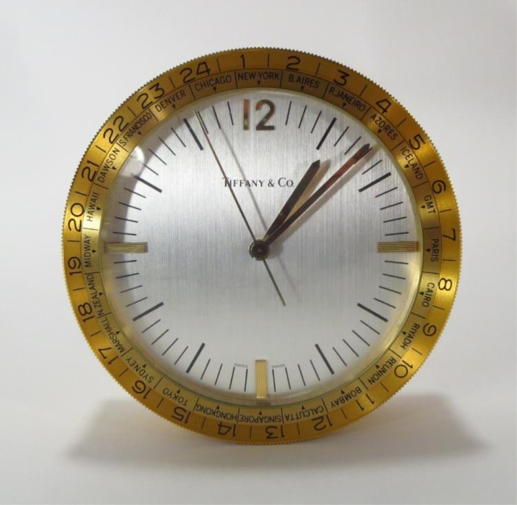 Tiffany & Co World Clock, Swiss Quartz Movement