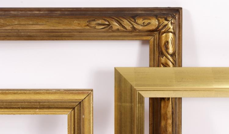 Three Larger Gilt Frames: Lawson, Sotheby's