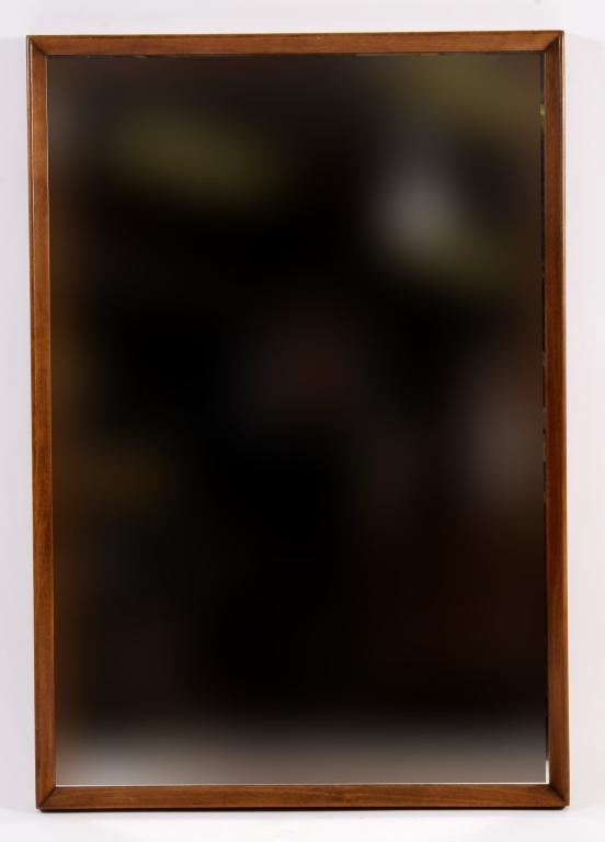Large Mid Century Modern Danish Mirror,20th