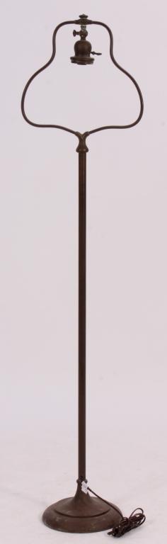 Handel Floor Lamp Base with Bell-Shaped Harp