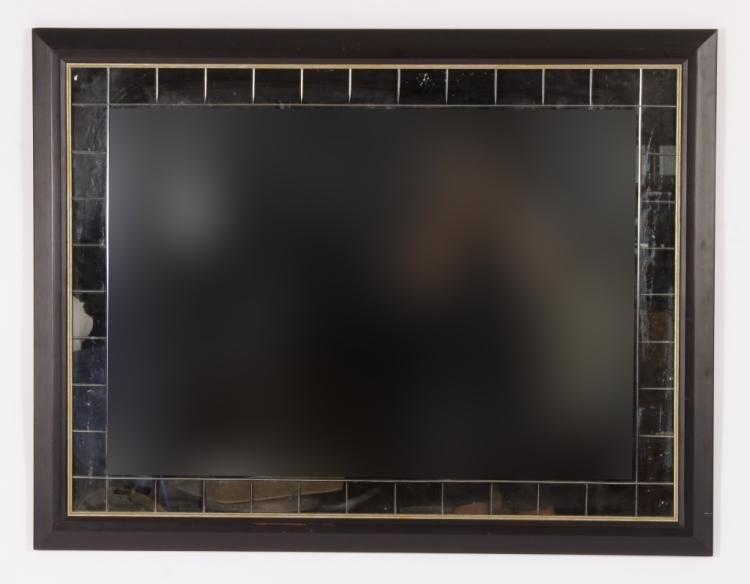 Contemporary Mirror in Black Frame