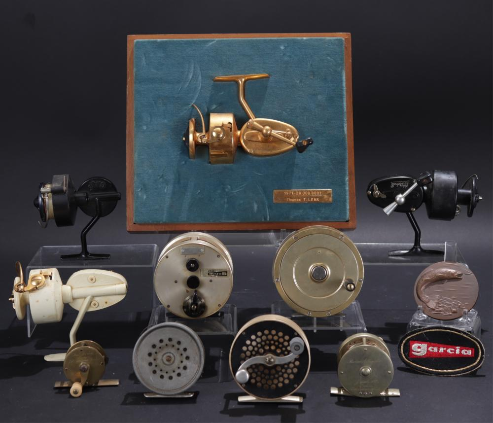 COLLECTION FISHING REELS, MITCHELL GARCIA & MORE