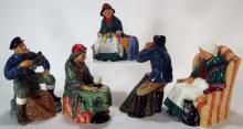19 Royal Doulton Porcelain Figures