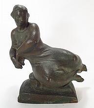 Nina Winkel,Ger./Am.,Floating Figure, bronze