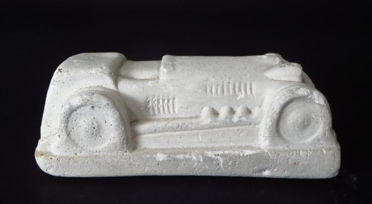 Eduardo Paolozzi Car Sculpture Plaster 20th C.
