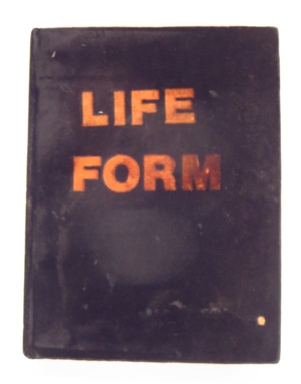 Richard Hambleton Life Form Book Sculpture 1989-90