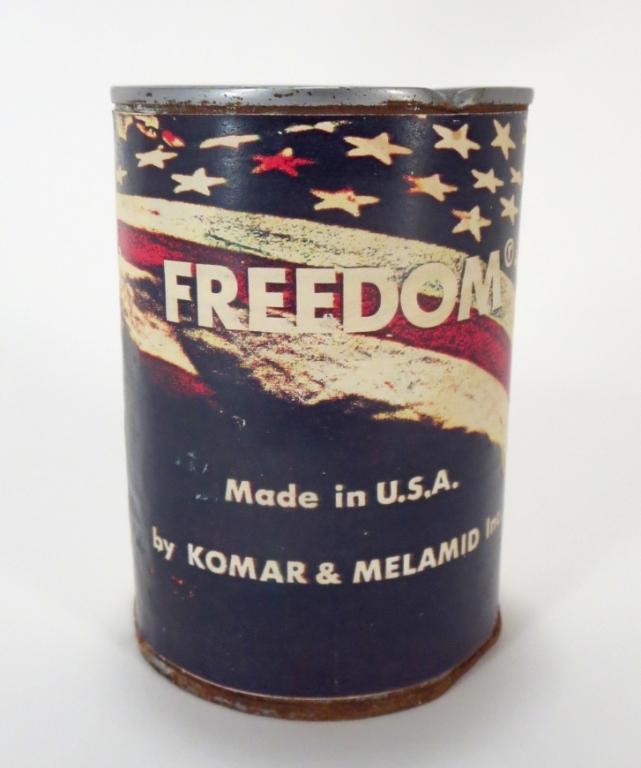 Komar & Melamid Can of Freedom 20th C.