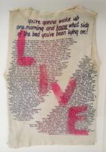 Two McLaren & Westwood Live & Sex T-Shirts 1970's