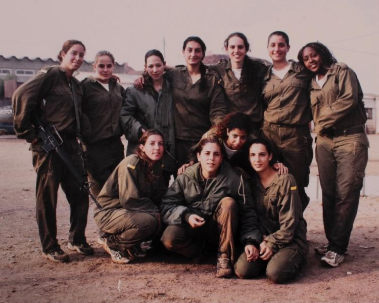 18 Ashkan Sahihi Photos of Israeli Female Soldiers