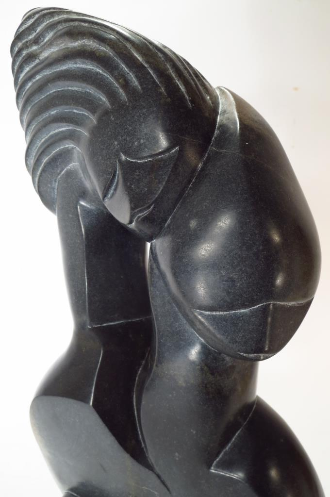 Soapstone sculpture quot the family zimbabwe