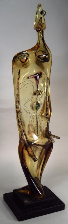 Leo Amino,Jap./Am, Abstract Female