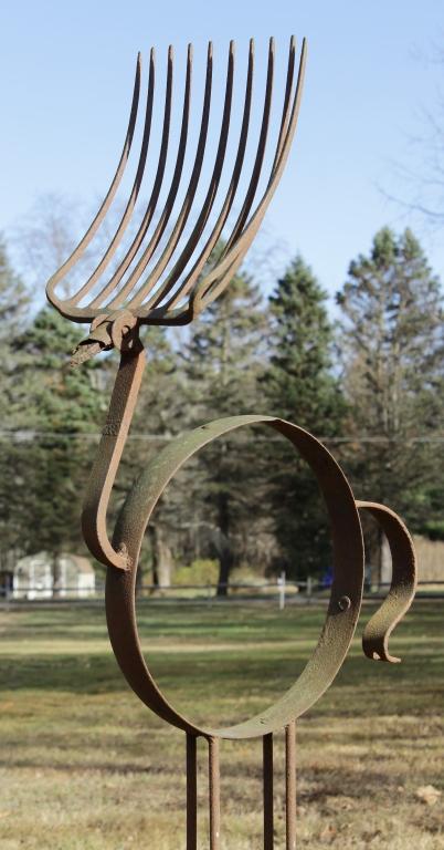 Found Object Bird Sculpture, poss. J. Wilhelm