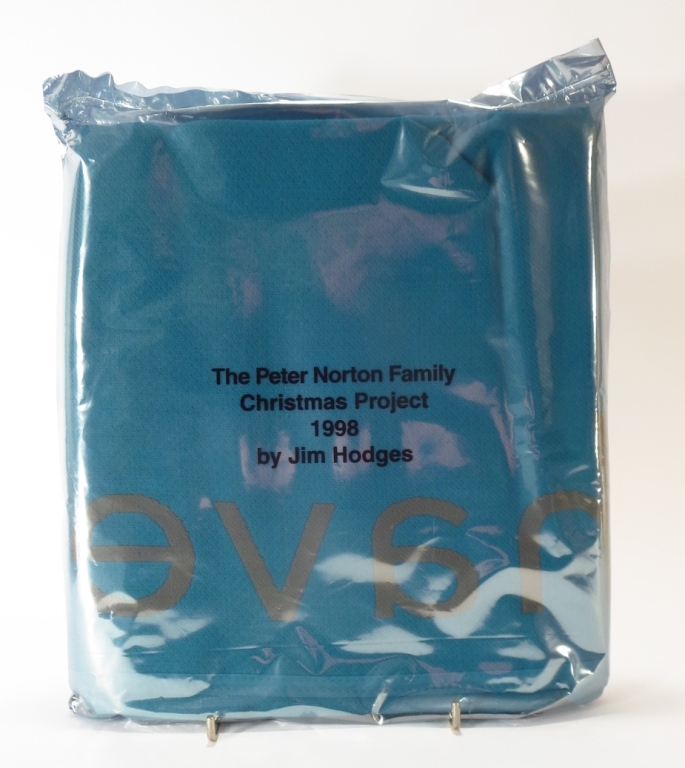 Jim Hodges Blanket Norton Xmas Project 1998