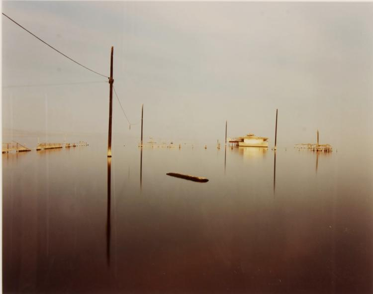 Photograph of Flooded Town, 20th C.