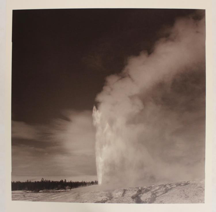 Lynn Davis, Photograph, Old Faithful, Yellowstone