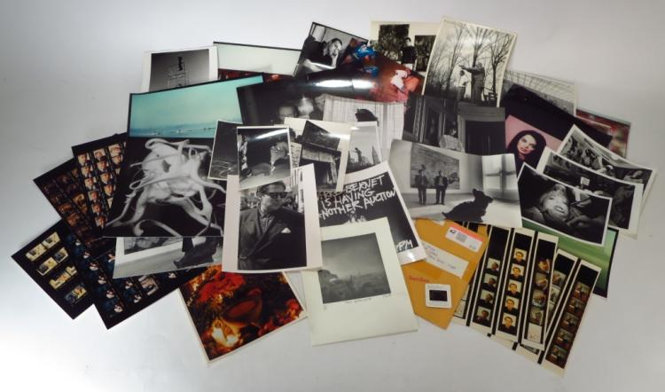 Group of 20 Photos Burroughs Chia Koons and Others