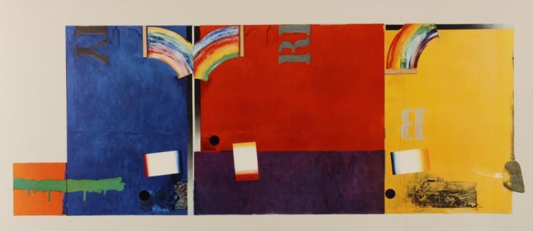 Aft. Jasper Johns, v. Large Framed Print