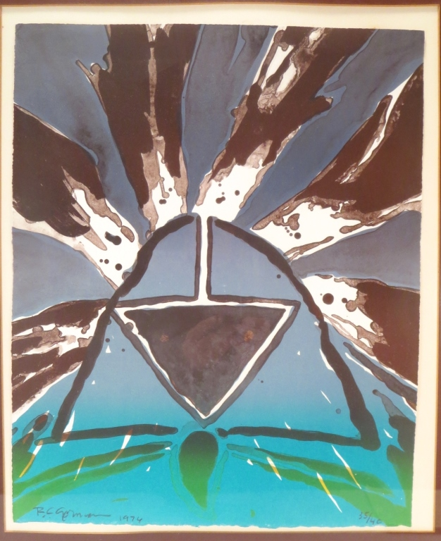 R. C. Gorman, (Am. 1932-2005), Abstract Lithograph