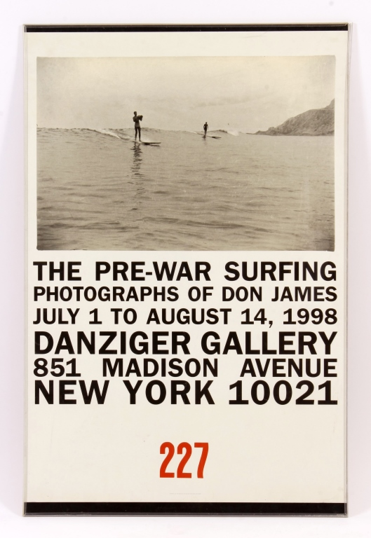 Don James Surf Poster Danziger Gallery NY 1998