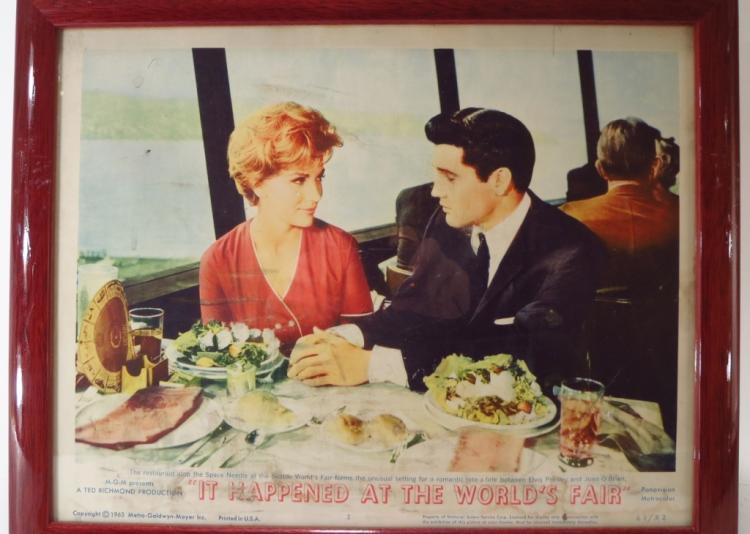 Grp. of 5 Elvis Presley Movie Lobby Cards