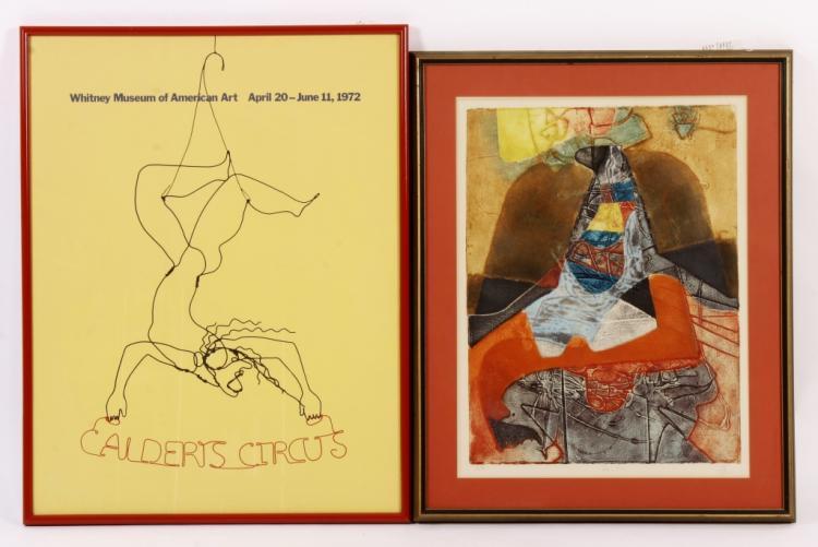 Calder Circus Poster & European Aquatint