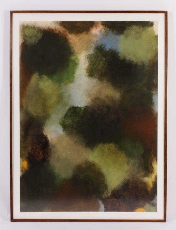 Jeff Kowatch, Untitled (Mary) Oil on Paper 1999