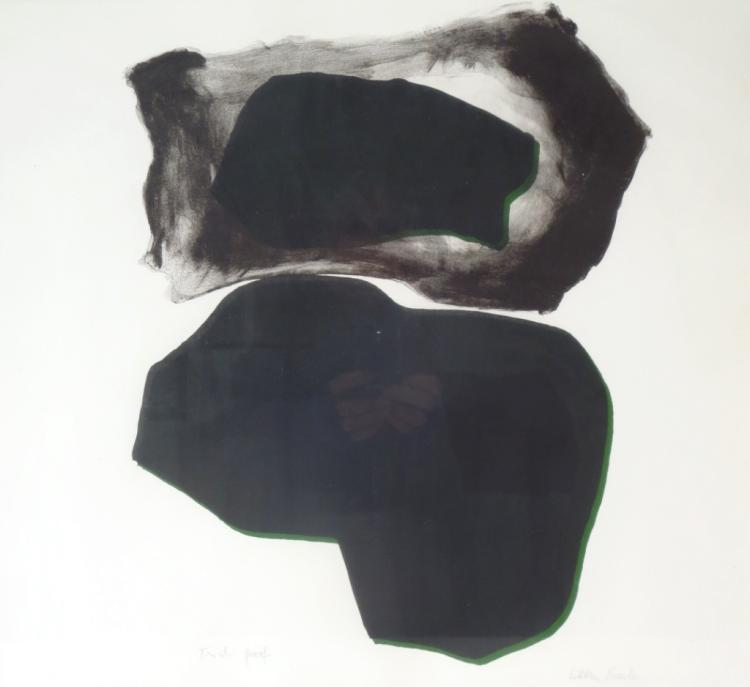 Esteban Vicente, 1903-2001, Untitled Lithograph