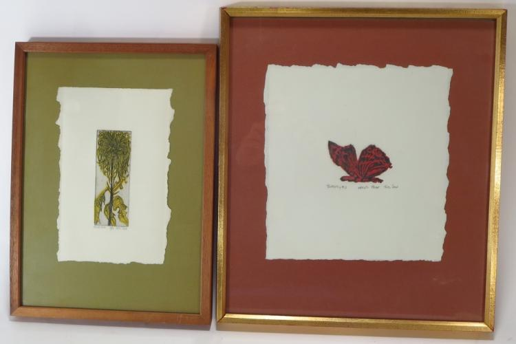 Ruth Leaf, 1923-2015, Butterfly #3 & Spider Mum