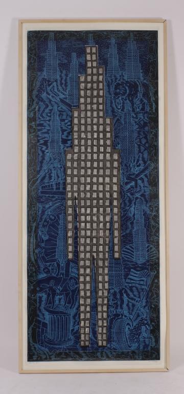 John E. Buck, Am., b.1946, 'Sky Line,' 2000-2002
