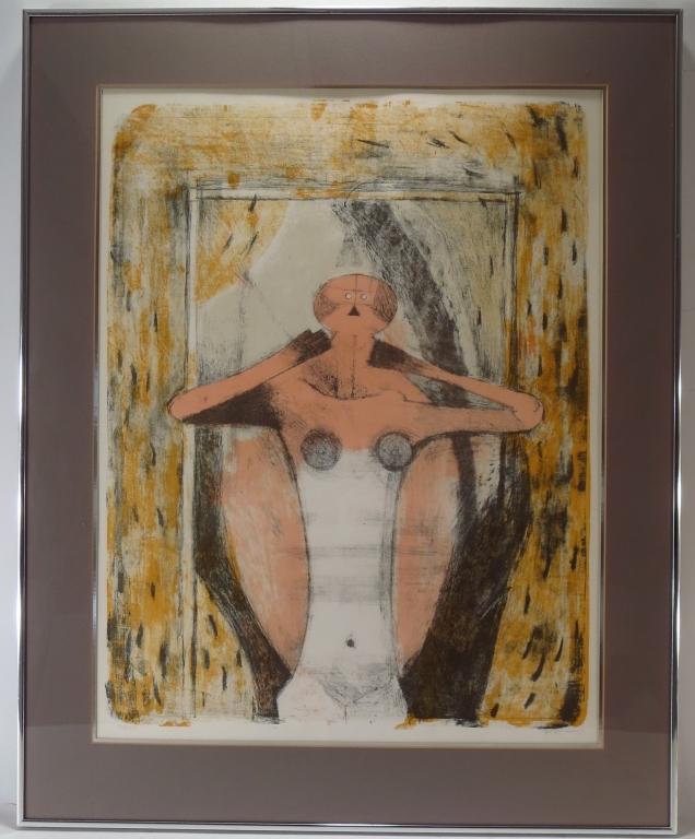 Rufino Tamayo Torso de Muje Lithograph 1969