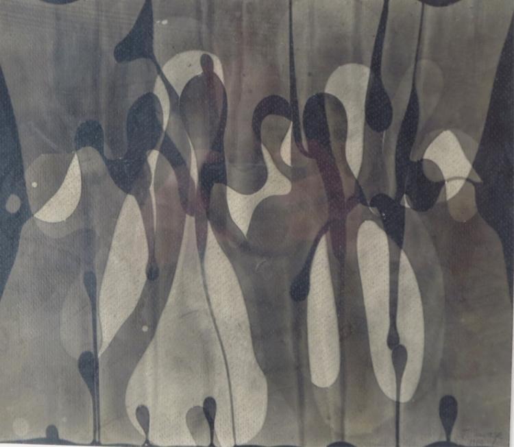 Naomi Savage,Am., Abstract, mixed media