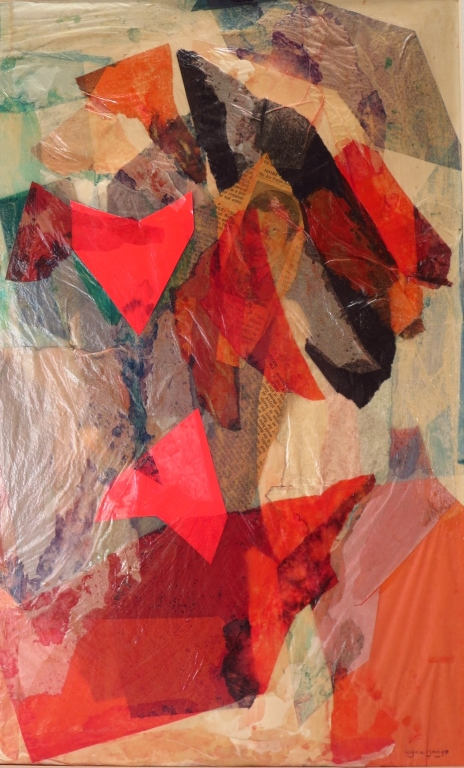 Wynn-Jones Abstract Collage / Paper 1970