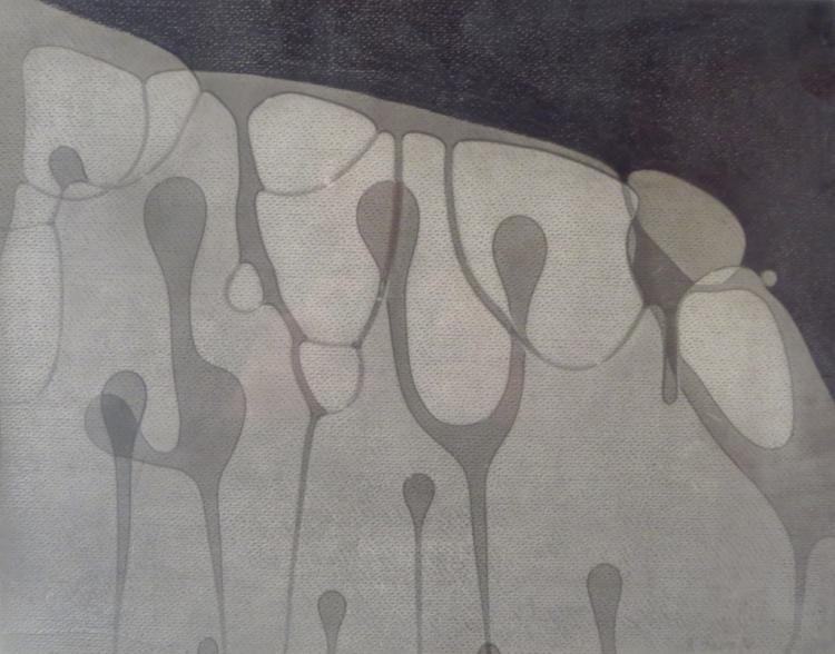 Naomi Savage,Am., Abstract 2, mixed media