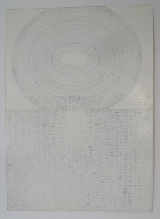 John Morris Abstract Pencil Drawing 1997