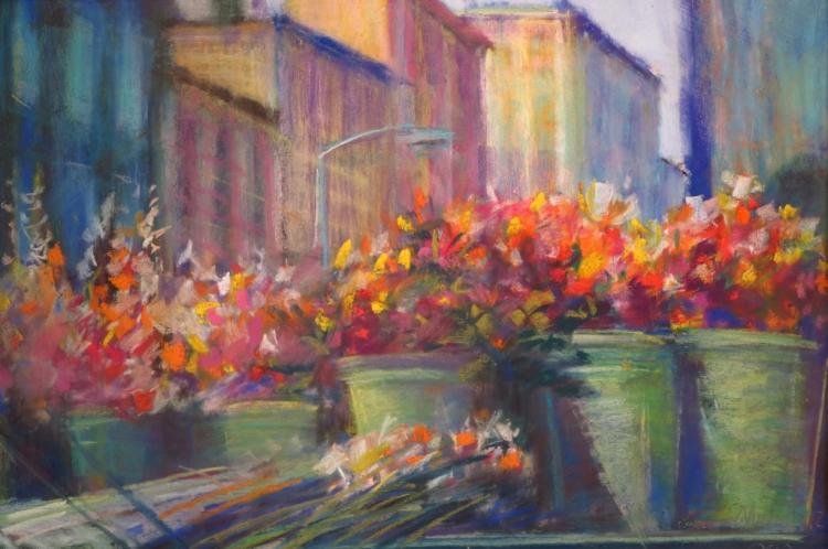 Sandra Rubel, Am., 1945-2015, Pastel
