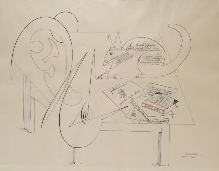Saul Steinberg, Am. 1914-99