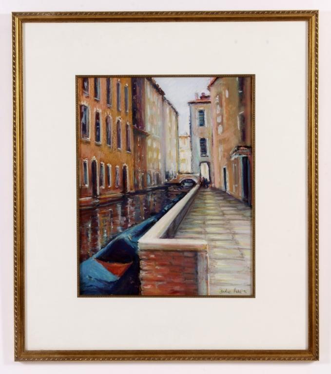 Sandra Rubel, Am., 1945-2015, Venice Canal