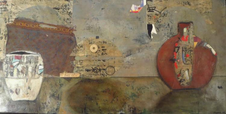 Christine Penrose Still-Life Mixed Media 1993